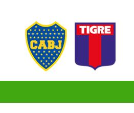 Boca Juniors vs Tigre
